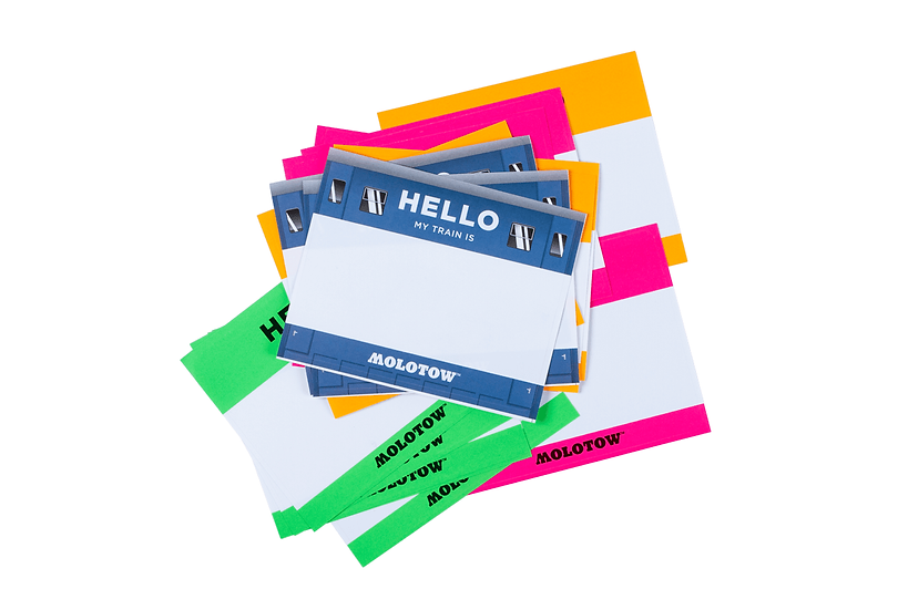 Molotow / Hello My Paint Is sticker pack
