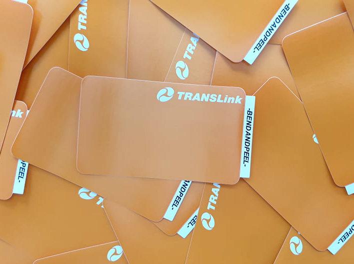 Hater Proof / Translink Eggshell sticker x50 pack
