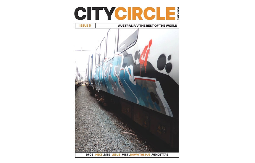 City Circle Issue #5 Graffiti Magazine