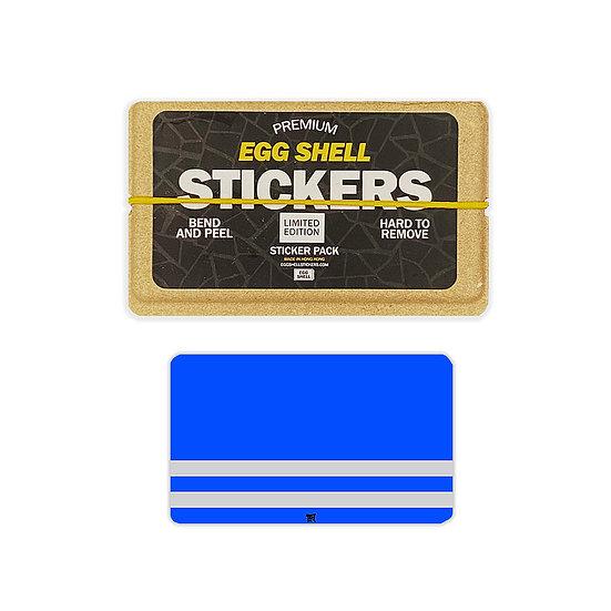 Egg Shell / Blue Safety Vest LE Blanks 50pcs
