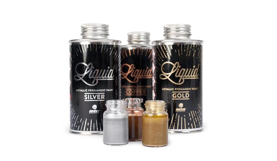 MTN / liquid 200ml metallic paint
