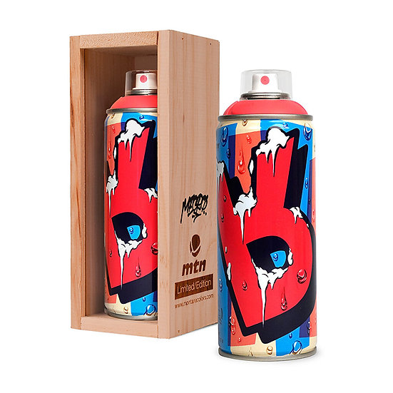 MTN / Mecro artist Limited Edition spray can