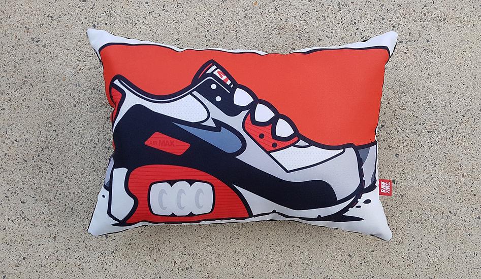 Raw / Kicks wht.blk.infared AM90 Cushion