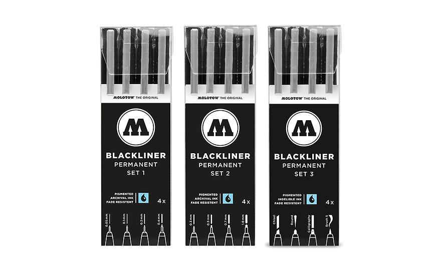 Molotow / blackliner sets