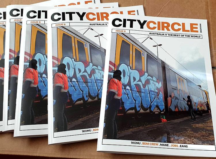 City Circle Issue #6 Graffiti Magazine