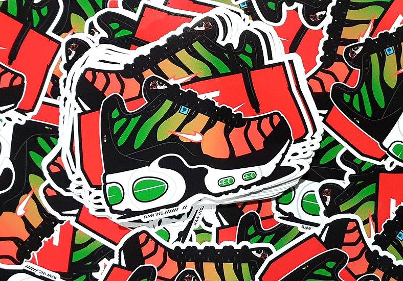 Raw Inc / TN Worldwide V2  stickers