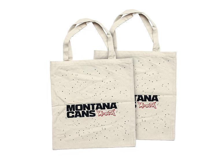 Montana / Logo & Stars Tote Bag