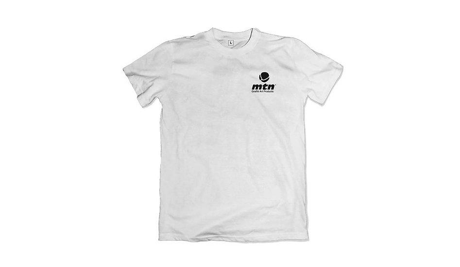 MTN / Pocket logo, white t-shirt