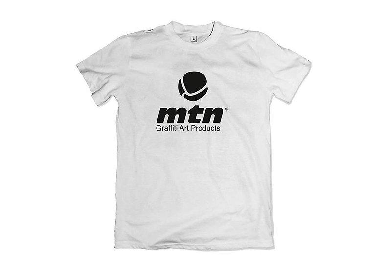 MTN / Basic front logo, white t-shirt