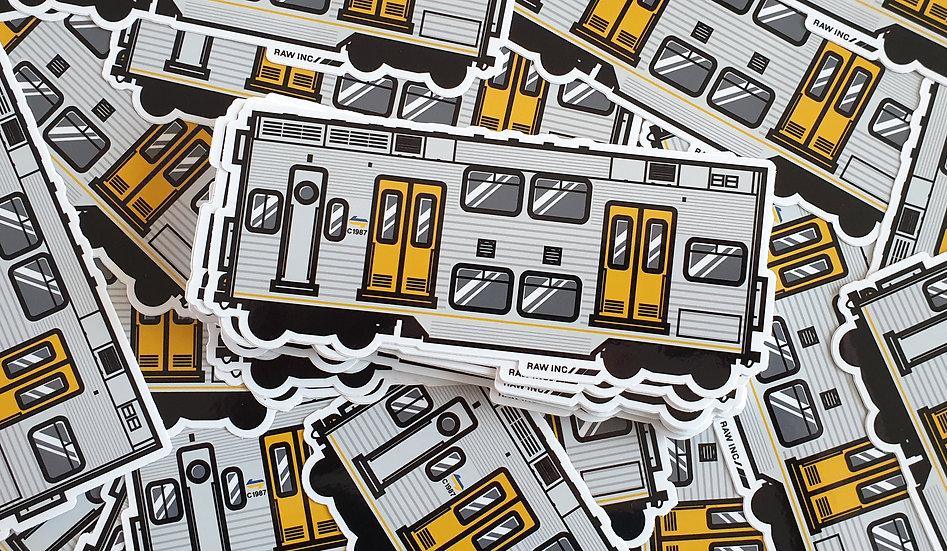Raw Inc / NSW S-Set Train stickers