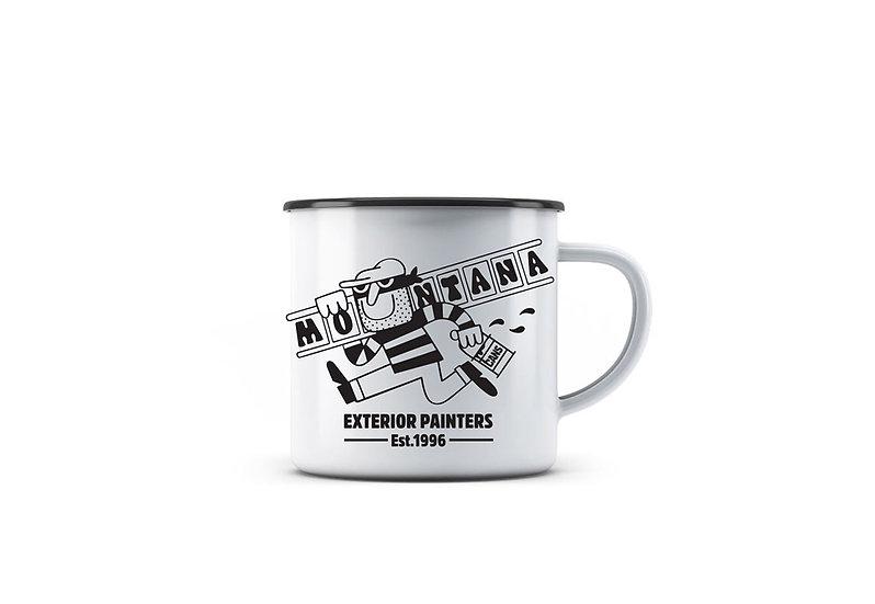 Montana / 45RPM Enamel Mug