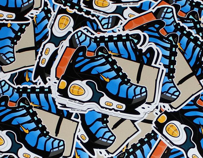 Raw Inc / TN Hyper Blue V2  stickers
