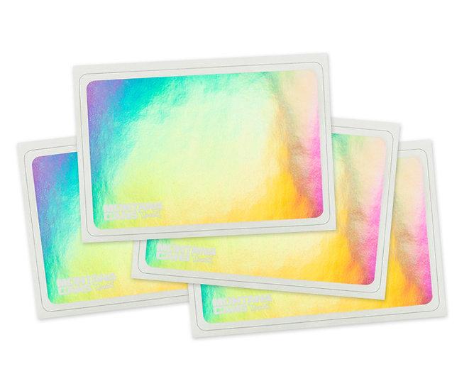 Montana / Hologram Eggshell Sticker pack