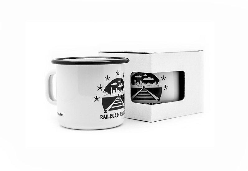 Montana / FORMULA76 Enamel Mug
