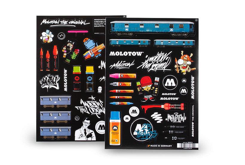 Molotow / Sticker Sheet Pack