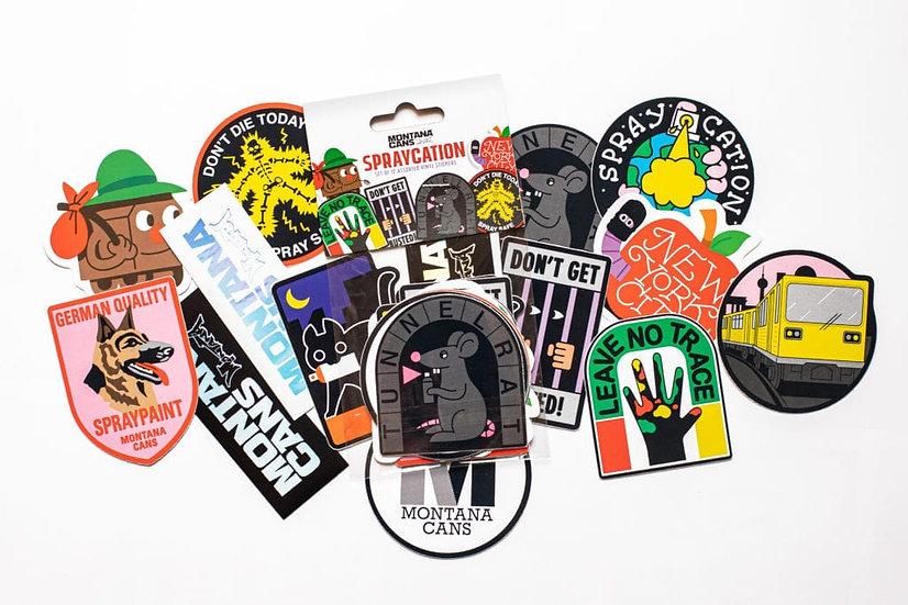 Montana / Spraycation Sticker Pack