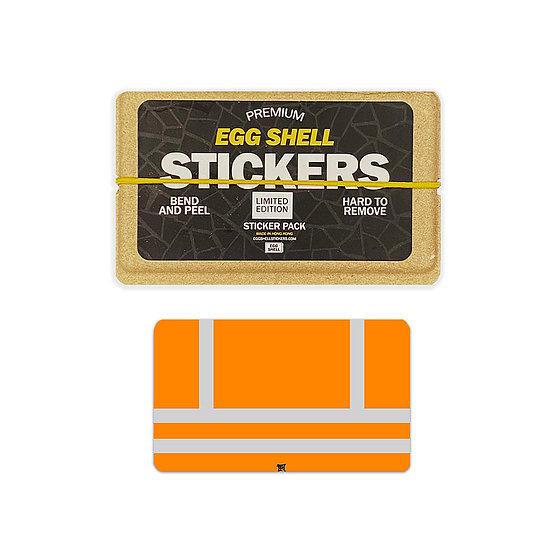 Egg Shell / Orange Safety Vest LE Blanks 50pcs