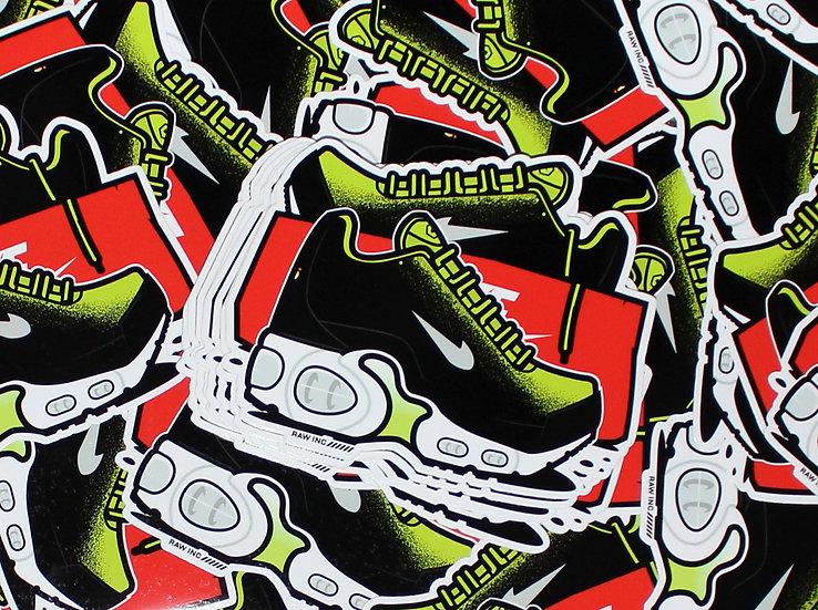 Raw Inc / TN SE Volt Green V2  stickers