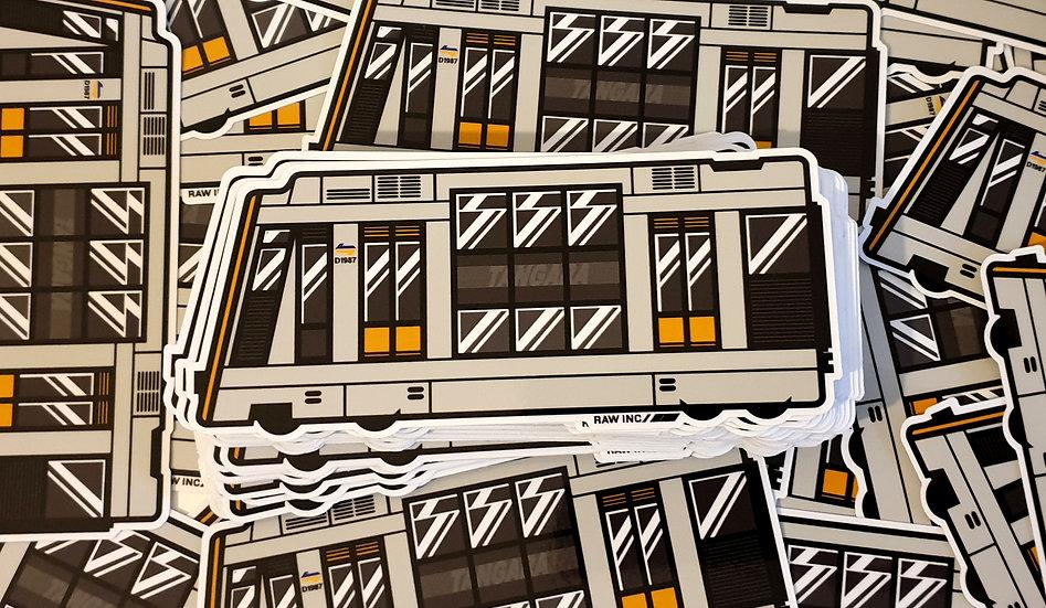 Raw Inc / NSW Tangara Train stickers