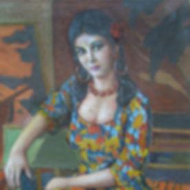 Młoda kobieta w kwiecistej sukience.jpg