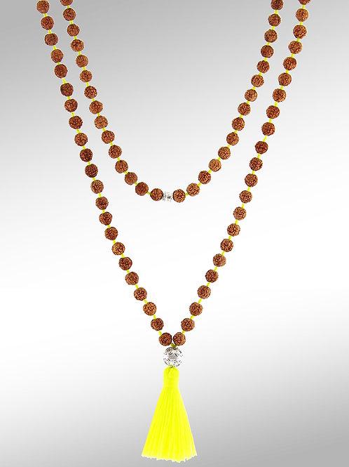Náhrdelník SADHU neon Yellow