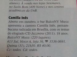 Camilla Ines Revista de Brasilia