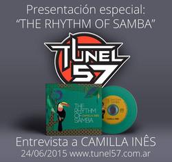 Camilla Ines Radio Tunel57, Argentina 2015