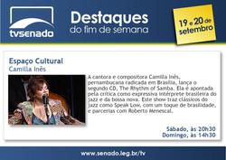 Camilla Ines Destaque TV Senado