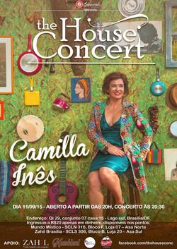 Camilla Ines House Concert