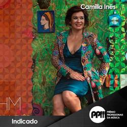 Camilla Ines Premio Profissionais da Música