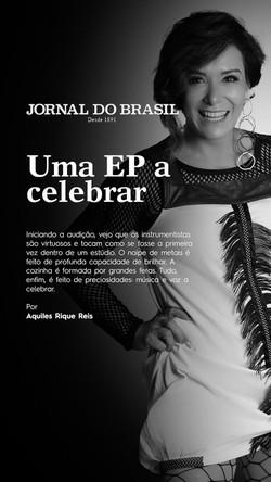 Camilla Ines Jornal do Brasil 2021