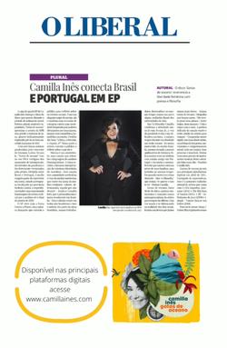 Camilla Ines Jornal O Liberal, Belém