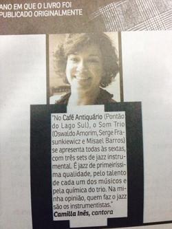 Camilla Ines Correio Brazilense