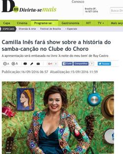 Camilla Ines Correio Braziliense, set 2016