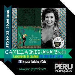 Camilla Ines Radio Peru Pop Rock, Peru 2015