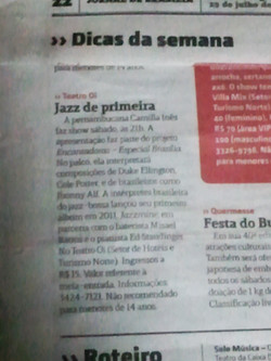 Camilla Ines Jornal de Brasilia