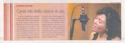 Camilla Ines Diario de Pernambuco, 2008