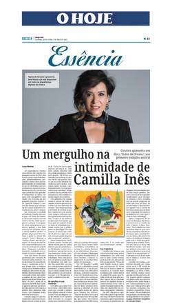 Camilla Ines Jornal O Hoje Goiânia