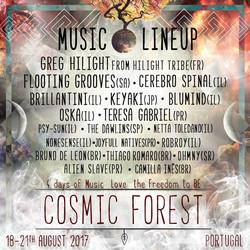 Camilla Ines Cosmic Forest Festival Portugal ago_2017