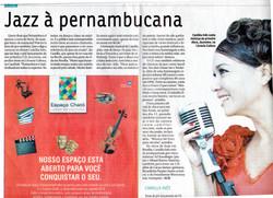 Camilla Ines Jornal Correio Braziliense, 2009
