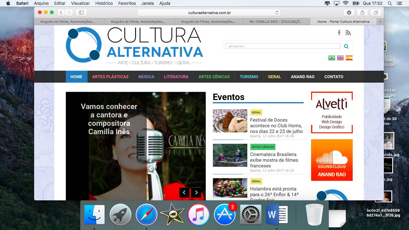 Cultura Alternativa,Brazil Jul/2017