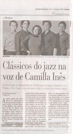 Camilla Ines Jornal de Pernambuco