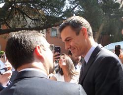 Visita del Presidente Pedro Sánchez.