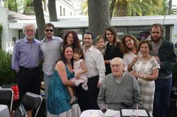 Familia Lomas y el Cónsul español