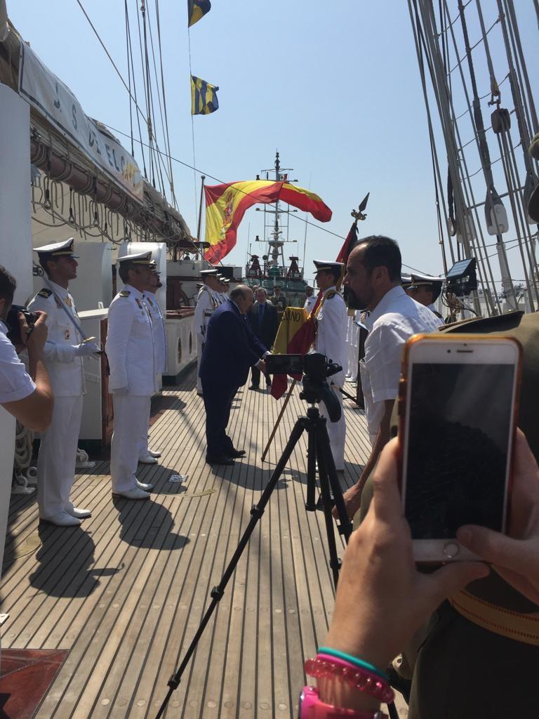 Buque Juan Sebastián Elcano. 2019