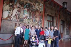 Visita a Palacio Nacional