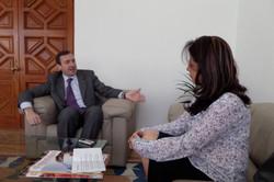 Entrevista para El Mentidero