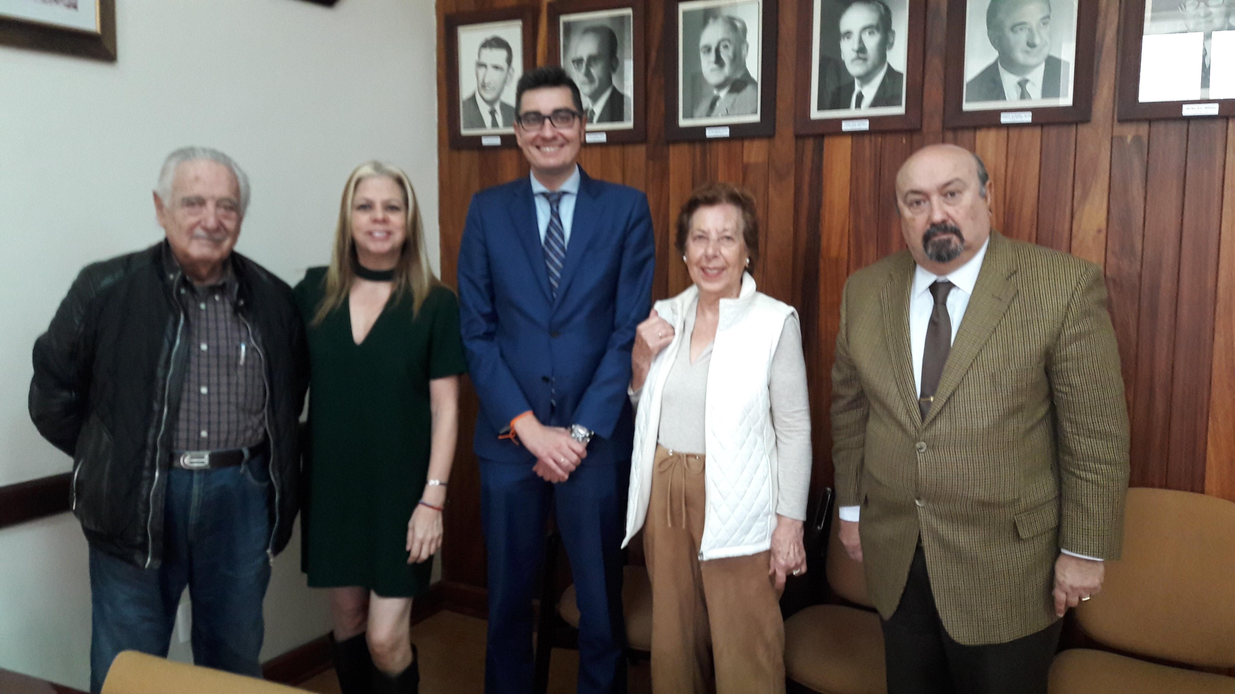 Visita Consejero de Trabajo José Solesio