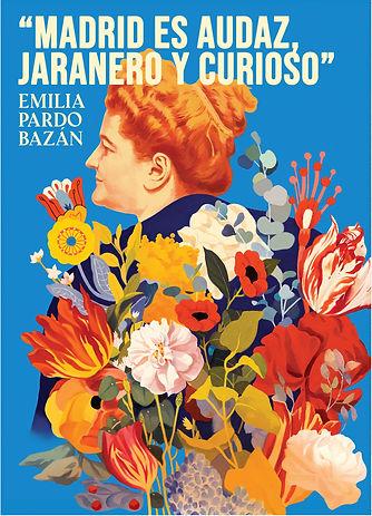 Emilia Pardo Bazan.Recortada sin márgene