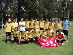 Equipo fútbol Casa Madrid